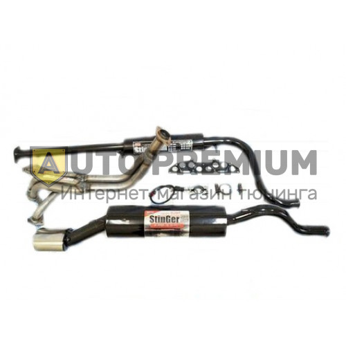 Выпускной комплект Subaru Sound ВАЗ 1117-18-19 Калина 16v без глушителя